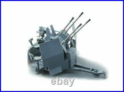 116 FLAKVIERLING 20MM FOR SDKFZ 7/1, Wespe resin cannon ready-built 16009