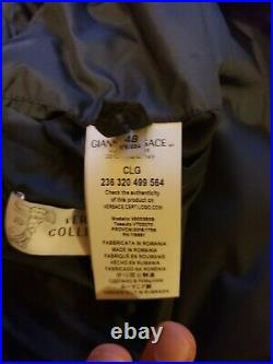 $995.00 NWT Versace Collection Mens Jacket Dark Blue size 48