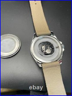 Custom Painted Kraken Dial, Seiko Quartz 316l stainless Case. One Of A Kind