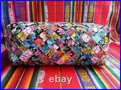 Free Shipping Handmade Large Recycled Materials bag Candy wrapper type