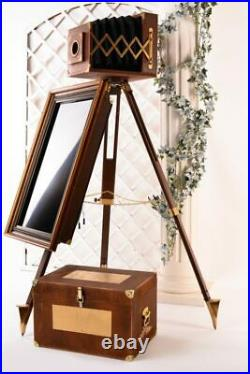 Handmade Vintage Selfie Photo-booth With Touch Screen