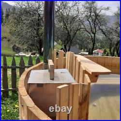 Hot tube spa brand new 1.8 M diameter wooden ecological materials