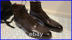 NEW Brown Saint Crispin's Utility Boots with Lasted Shoe Trees 10 D US (size 9F)