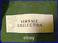 NWT AUTHENTIC Versace Collection #V500160 Green Men's Sport Coat Jacket Size 46