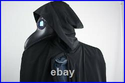 Plague Doctor Mask, Leather Mask, Steampunk. Halloween Mask, Raven, Cosplay