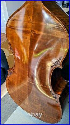 Professional Double Bass made in 2005 by the master luthier Nagy Béla, Reghin