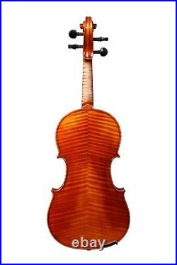 Violin 4/4 Hand-Made in Europe Sound Sample Available! #145